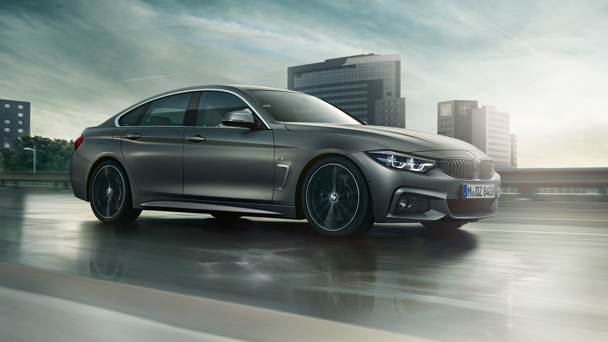 BMW 4 Series Gran Coupé, still shot of the front